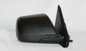 2008-2009 Mercury Mariner Side View Mirror (Non-Heated / Power Remote / Black) - Right (Passenger)