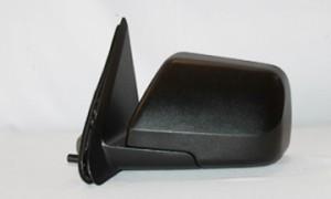 2008-2009 Mercury Mariner Side View Mirror (Heated / Power Remote / Black / Mariner Hybrid / Mariner Premier) - Left (Driver)