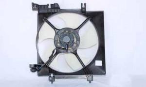 2005-2006 Subaru Outback Radiator Cooling Fan Assembly