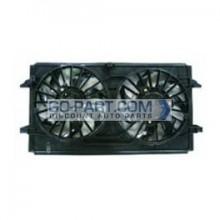 2007-2010 Chevrolet (Chevy) Malibu Radiator Cooling Fan Assembly