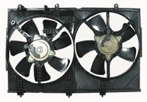 2003 - 2006 Mitsubishi Outlander Radiator Cooling Fan Assembly