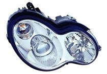 2002 - 2005 Mercedes Benz C230 Front Headlight Assembly Replacement Housing / Lens / Cover - Right (Passenger)