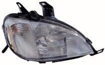 2000 - 2001 Mercedes Benz ML430 Front Headlight Assembly Replacement Housing / Lens / Cover - Right (Passenger)