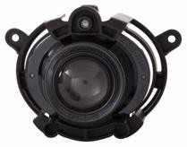 2008 - 2012 Chevrolet (Chevy) Malibu Fog Light Assembly Replacement Housing / Lens / Cover - Left or Right (Driver or Passenger)