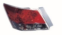 2008 - 2012 Honda Accord Rear Tail Light Assembly Replacement (Sedan) - Left (Driver)