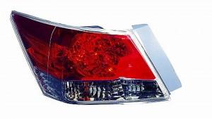 2008-2012 Honda Accord Tail Light Rear Lamp (Sedan) - Left (Driver)