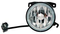 2003 - 2005 Honda Pilot Fog Light Assembly Replacement Housing / Lens / Cover - Left (Driver)