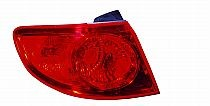 2007-2009 Hyundai Santa Fe Tail Light Rear Lamp - Left (Driver)