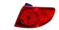 2007 - 2009 Hyundai Santa Fe Rear Tail Light Assembly Replacement / Lens / Cover - Right (Passenger)