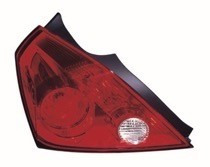 2008 - 2013 Nissan Altima Rear Tail Light Assembly Replacement / Lens / Cover - Left (Driver)