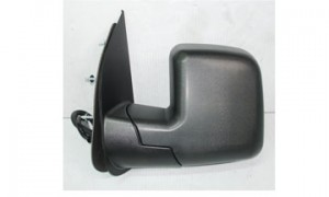 2002-2007 Ford Econoline Van Side View Mirror (with Power / with Puddle Lamp) - Left (Driver)