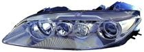 2003 - 2005 Mazda 6 Mazda6 Headlight Assembly (without Fog Lamps + Lens & Body) - Left (Driver)
