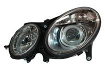 2003 - 2006 Mercedes Benz E500 Front Headlight Assembly Replacement Housing / Lens / Cover - Left (Driver)