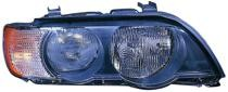 2000 - 2003 BMW X5 Headlight Assembly (Halogen + with White Turn Signals) - Left (Driver)