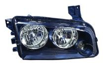 2008 - 2010 Dodge Charger Headlight Assembly (Halogen) - Right (Passenger)