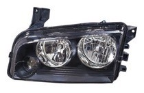 2008 - 2010 Dodge Charger Headlight Assembly (Halogen) - Left (Driver)