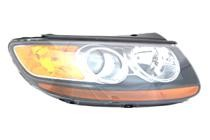 2007 - 2008 Hyundai Santa Fe Front Headlight Assembly Replacement Housing / Lens / Cover - Right (Passenger)