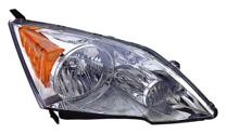 2007 - 2011 Honda CR-V Front Headlight Assembly Replacement Housing / Lens / Cover - Right (Passenger)