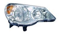 2007 - 2010 Chrysler Sebring Headlight Assembly - Right (Passenger)