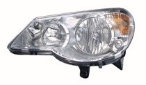 2007 - 2010 Chrysler Sebring Headlight Assembly - Left (Driver)