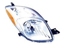 2006 - 2008 Toyota Yaris Front Headlight Assembly Replacement Housing / Lens / Cover - Right (Passenger)