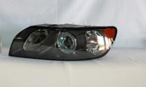 2004 - 2007 Volvo S40 Front Headlight Assembly Replacement Housing / Lens / Cover - Left (Driver)