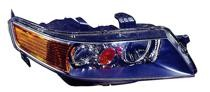 2006 - 2008 Acura TSX Front Headlight Assembly Replacement Housing / Lens / Cover - Right (Passenger)