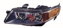 2006 - 2008 Acura TSX Front Headlight Assembly Replacement Housing / Lens / Cover - Left (Driver)