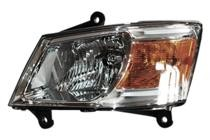 2008 - 2010 Dodge Caravan Front Headlight Assembly Replacement Housing / Lens / Cover - Left (Driver)