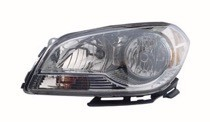 2008 - 2012 Chevrolet (Chevy) Malibu Front Headlight Assembly Replacement Housing / Lens / Cover - Left (Driver)