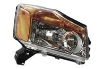 2008 - 2015 Nissan Titan Pickup Front Headlight Assembly Replacement Housing / Lens / Cover - Right (Passenger)