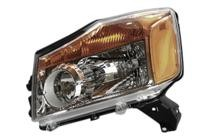 2008 - 2015 Nissan Titan Pickup Headlight Assembly - Left (Driver)