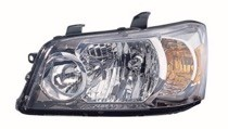 2007 Toyota Highlander Front Headlight Assembly Replacement Housing / Lens / Cover - Left (Driver)