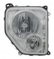 2008 - 2009 Jeep Liberty Front Headlight Assembly Replacement Housing / Lens / Cover - Right (Passenger)