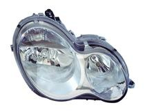 2005-2007 Mercedes Benz C350 Headlight Assembly - Left (Driver)