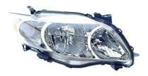 2009 - 2010 Toyota Corolla Headlight Assembly (Base/CE/LE/XLE) - Right (Passenger)