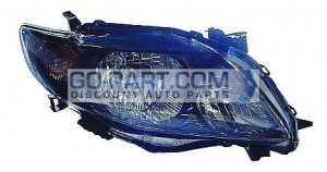 2009-2010 Toyota Corolla Headlight Assembly (S/XRS) - Right (Passenger)