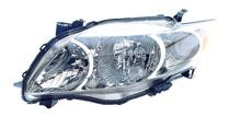 2009 - 2010 Toyota Corolla Headlight Assembly (Base/CE/LE/XLE) - Left (Driver)