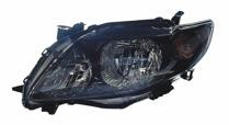 2009 - 2010 Toyota Corolla Headlight Assembly (S/XRS) - Left (Driver)