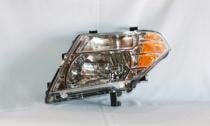 2008 - 2012 Nissan Pathfinder Front Headlight Assembly Replacement Housing / Lens / Cover - Left (Driver)