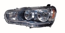 2008 - 2010 Mitsubishi Lancer Evolution Front Headlight Assembly Replacement Housing / Lens / Cover - Right (Passenger)
