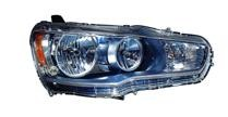 2008 - 2010 Mitsubishi Lancer Evolution Front Headlight Assembly Replacement Housing / Lens / Cover - Left (Driver)
