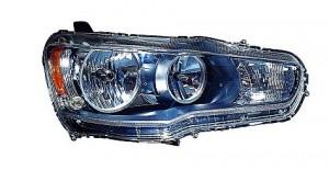 2008-2010 Mitsubishi Lancer Evolution Headlight Assembly - Left (Driver)