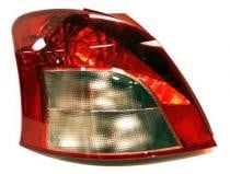2007 - 2008 Toyota Yaris Tail Light Rear Lamp - Left (Driver)
