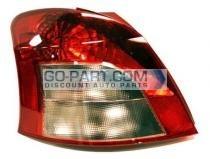 2007-2008 Toyota Yaris Tail Light Rear Lamp - Left (Driver)