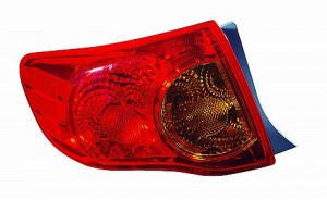 2009-2010 Toyota Corolla Tail Light Rear Lamp - Left (Driver)