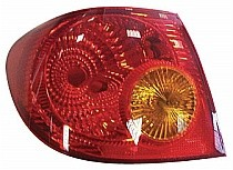 2003 - 2005 Toyota Corolla Rear Tail Light Assembly Replacement / Lens / Cover - Left (Driver)