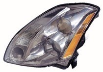 2004 - 2005 Nissan Maxima Front Headlight Assembly Replacement Housing / Lens / Cover - Left (Driver)