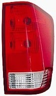 2004 - 2015 Nissan Titan Pickup Tail Light Rear Lamp (without Utility Compartment + with Bulb) - Right (Passenger)