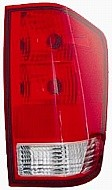 2004-2011 Nissan Titan Pickup Tail Light Rear Lamp (without Utility Compartment / with Bulb) - Right (Passenger)